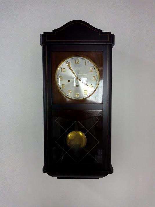 Reloj De Pared Jawaco De Cuerda Original Campanero Antiguo 0