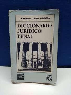 Diccionario Jurídico Penal Horacio Gómez Aristizábal P&J