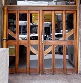 Puerta de dos hojas