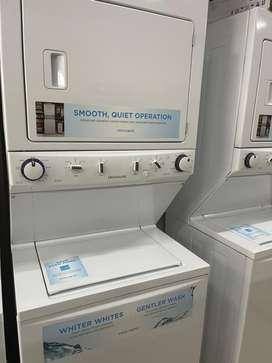 Gran oferta de torre de lavado y secado frigidaire 38l