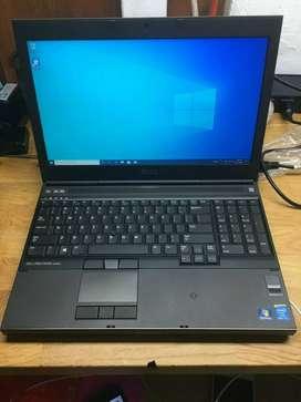 Laptop Dell Precision M4800 4ta generación Core i7