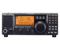 Tranceiver BLU-HF Comercial Icom IC-78 0 km. sin uso Garantía