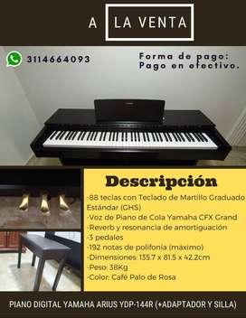 Yamaha Arius YPD 144r (Incluye silla y adaptador) - Estado (10/10)