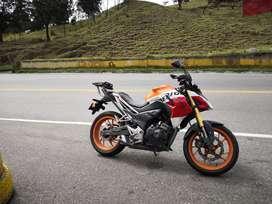 Motocicleta honda repsol 190 economica