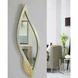 Espejos decorativos nuevos en forma de hoja