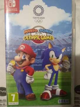 Juego Mario & Sonic Nintendo switch