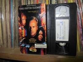 El quinto elemento (Le Cinquième Élément)  - 1997  -   VHS HIFI - Bruce Willis