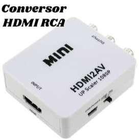 Conversor HDMI a RCA