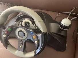 MAD CATZ Mc 2 Controlador De Rueda De Carreras Con Pedales de pie