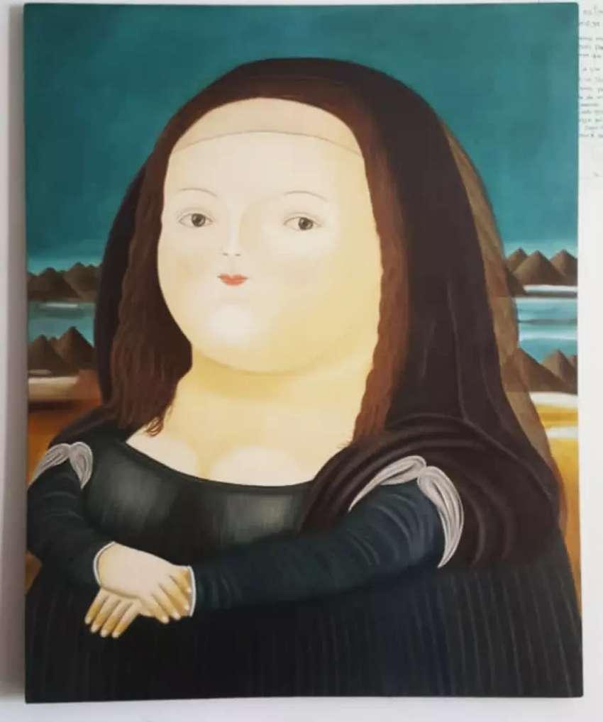 Réplica Monalisa de Botero