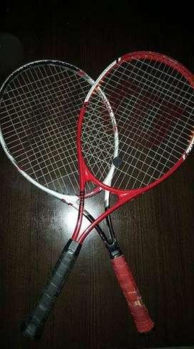 Vendo raquetas de tenis usadas