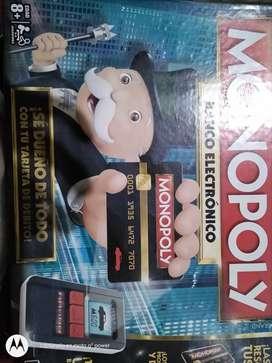 Monopoly electrónico y clasico