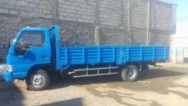 Camion jac de 6 toneladas operativo