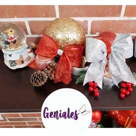 Navidad: Moños Navideños