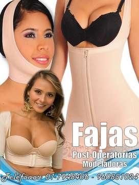 FAJAS POST-QUIRURGICAS A MEDIDA - DAMAS Y CABALLEROS