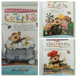 3 DVDs de Bubba. Originales