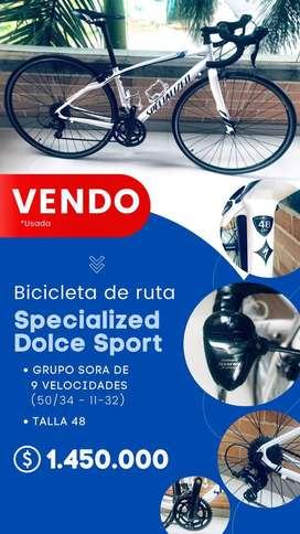 VENDO BICICLETA DE RUTA SEPCIALIZED DOLCE SPORT