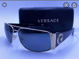 Versace - Gafas de sol para hombre (VE2163) metal