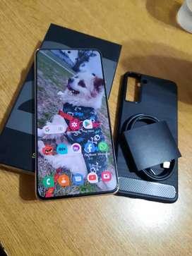 Vendo Samsung s21 plus libre impecable días de uso con garantía