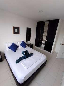 Apartamentos de una y dos habitaciónes con vista al mar, a tan solo 20m de la playa de El Rodadero
