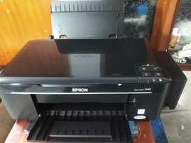 Impresora Epson tx125 con sistema de tinta tipo original