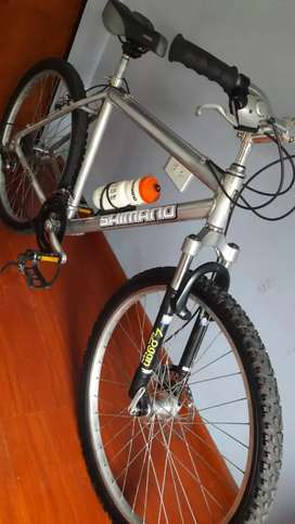 Bicicleta Mtb 26 aluminio nueva