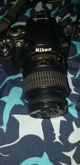 Vendo o cambio cámara semiprofesional nikon en perfecto estado