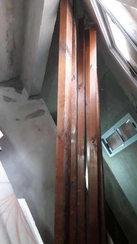Vigas de madera para techo 3 metros 6 unidades