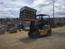 Alquiler de Montacarga 3,5 toneladas