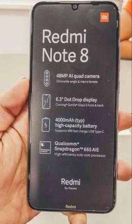 Se vende celular Redmi note 8, En muy buen estado