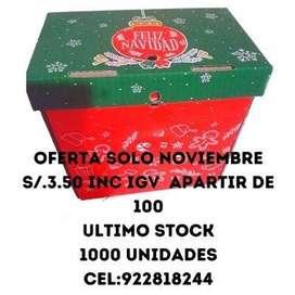 cajas para canastas navideñas ultimo stockk