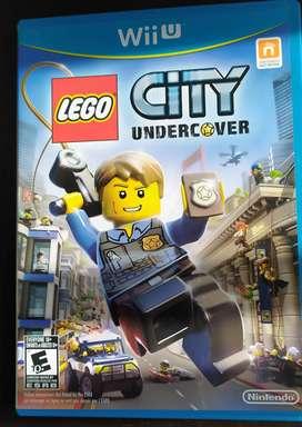 Vídeo juego Lego City Undercover Nintendo wii u