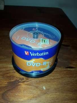Packx50 Cd Dvd Verbatim Nuevos