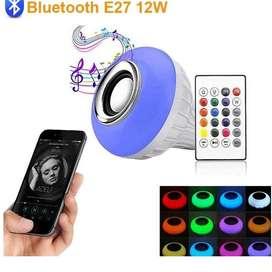 Bombilla con parlante RGB - Gran calidad