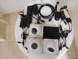 Kit de cámaras de seguridad hitvision 8 canales