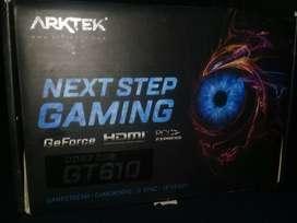 Tarjeta gráfica GT610 DDR3 2GB