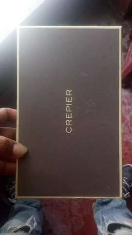 Caja Vacia de Billetera Crepier Original