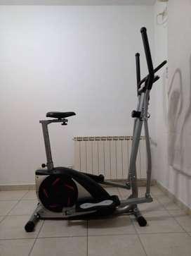 Elíptico y Bicicleta magnetico Olmo 410