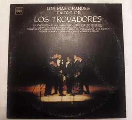 DISCO LONGPLAY DE VINILO – LOS TROVADORES – CBS