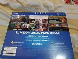 Play Station 4 nuevo
