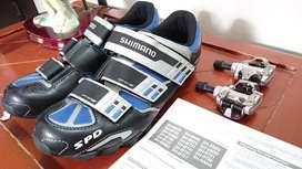 Zapatos Shimano Originales para Ciclismo Nuevos