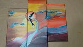 Triptico pintado