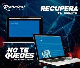Servicio de Mantenimiento, Reparación y Formateo de PC y Laptop