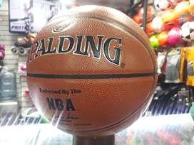 Balón de cuero basket spalding