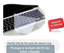 Protector de silicona para teclado, domicilio GRATIS dentro de Barranquilla y Soledad