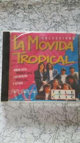 Cd coleccion la movida tropical