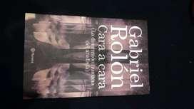 Libro Cara a Cara, de Gabriel Rolón