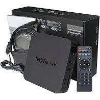 TV BOX 4K Marca MXQ