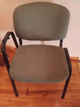 3 sillas sala de espera