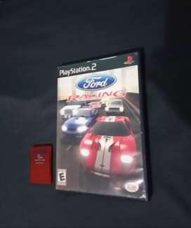 Ford racing 2 + Memory card 8 MB, (originales).